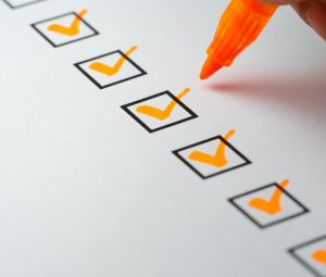 Employer checklist